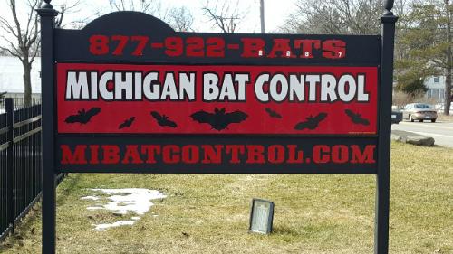 Bat Control Sign
